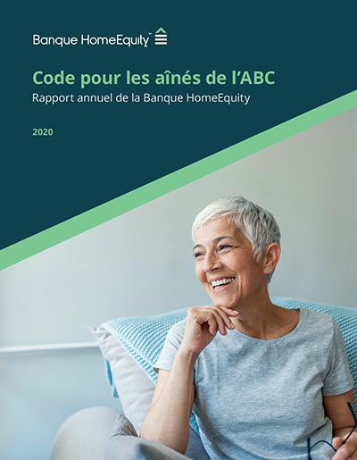 rapport annuel 2020 sur le Code pour les aînés